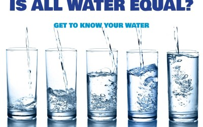 Is all Water Equal?  Is all Water the same?