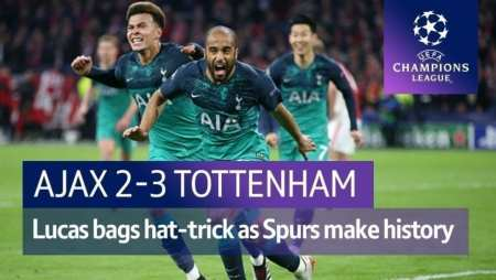 Tottenham stuns Ajax! Mauricio Pochettino: Tottenham superheroes achieved near miracle!