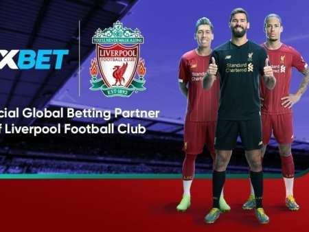 Liverpool FC geht eine neue Partnerschaft mit 1xBet ein