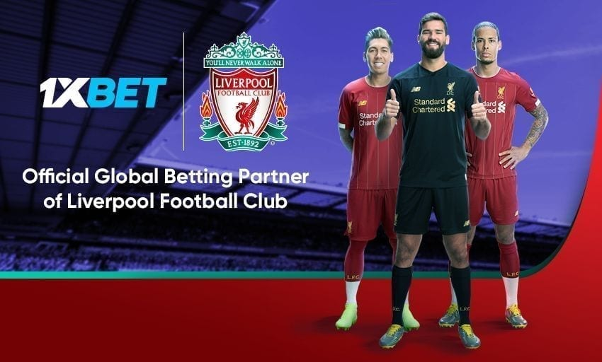 Liverpool FC kicks off new partnership with 1xBet