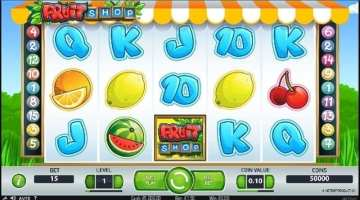 Fruit Shop free slot game