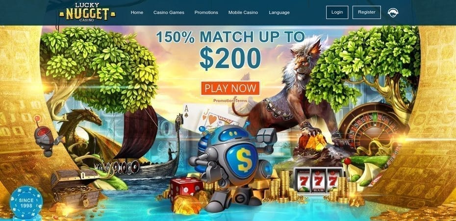 Lucky Nugget Online Casino