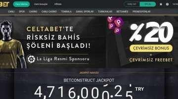 CeltaBet Spor Bahisleri ve Canlı Bahis
