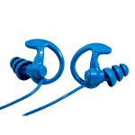 EP9 SONIC DEFENDERS - COBALT MAX Full-Block Flanged Earplugs