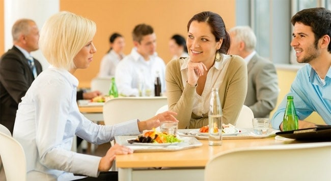 workplace dining activities