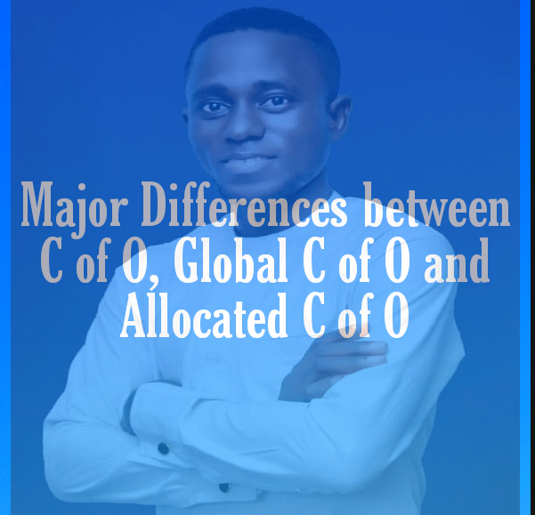 major difference between c of o and allocated c of o