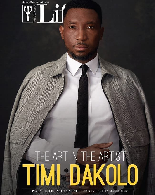 Timi Dakolo is all About his Art in Guardian Life's Latest Issue