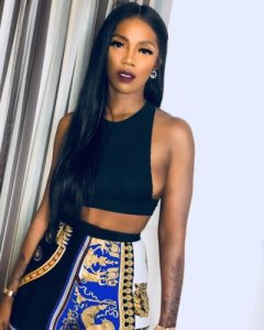 Tiwa Savage Links Up With American Rapper, DaBaby At Grammy Showcase In The US