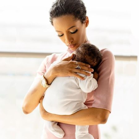 Singer, Dija Shows Off Her Sweet Baby (See Photo)