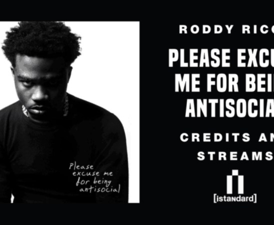 Roddy Ricch - Please Excuse Me For Being Antisocial Album