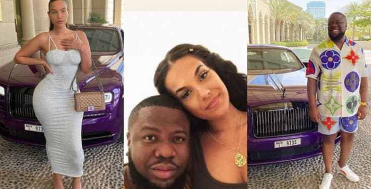 """Karma Is A Bitch"" – Hushpuppi's Alleged Girlfriend Mocks Him"