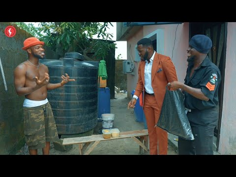 COMEDY VIDEO: Broda Shaggi And Officer Woos In Trouble With Deyemi Okanlawon