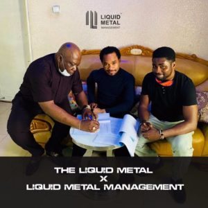 Prophet Odumeje 'The Indaboski' Is Now Signed To The Liquid Metal Management Family