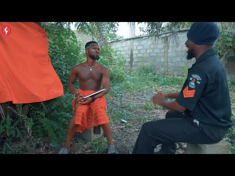 VIDEO: Broda Shaggi In Trouble, Officer Woos Want To Overthrown Him (Comedy)