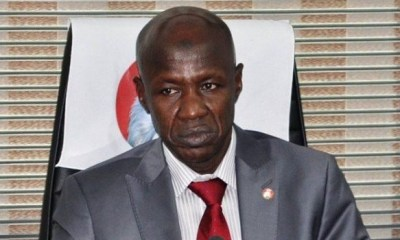 EFCC Acting Chairman, Ibrahim Magu Was Arrested By DSS
