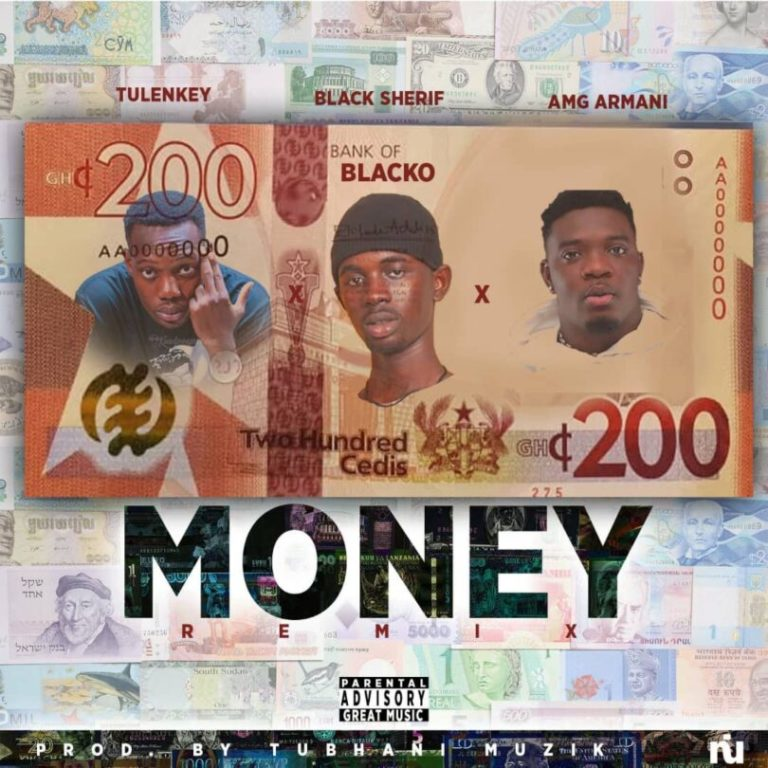 "Black Sherif Ft. Tulenkey & AMG Armani – ""Money"" [Remix]"