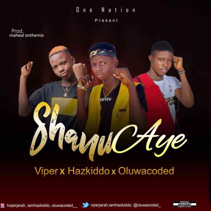 Viper Ft. Hazkido & Oluwacoded - Shanu Aye