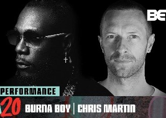 WATCH Burna Boy & Chris Martin perform 'Monsters You Made' @ BET #HipHopAwards 2020