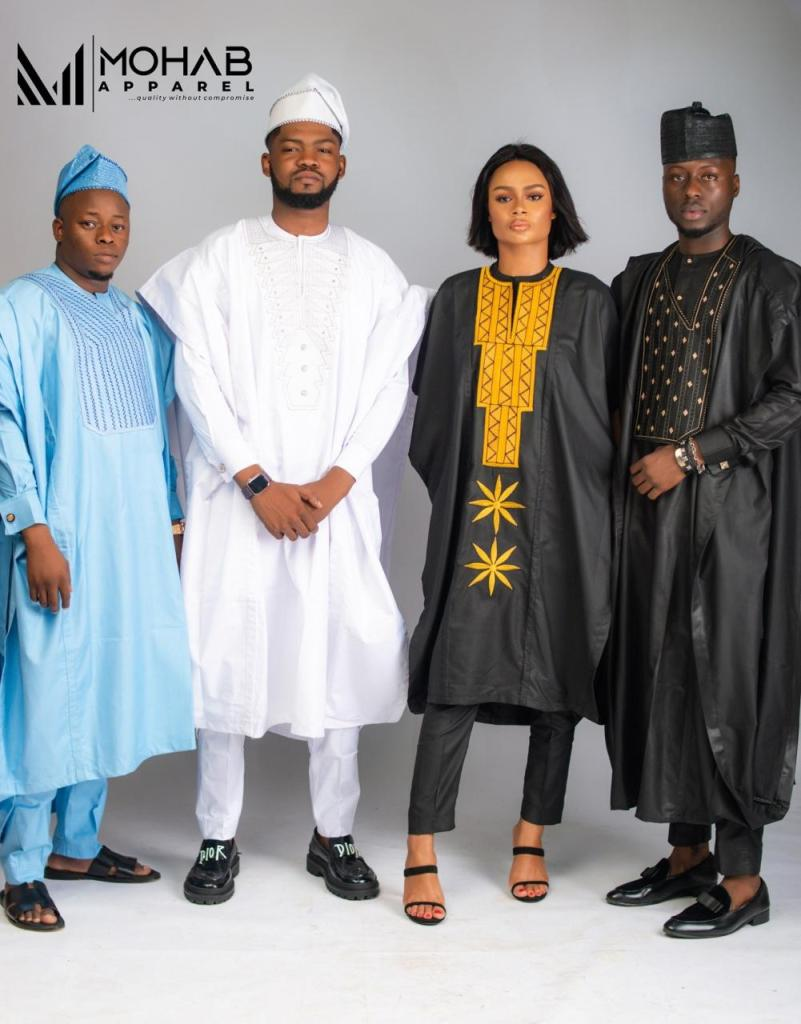 Mohab Apparel Shows Majestic Agbada Collection (#MAC2020)