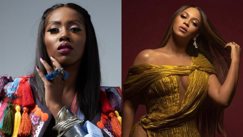 Tiwa Savage Calls On Beyoncé To Lend Voice To #EndSARS Protests In Nigeria