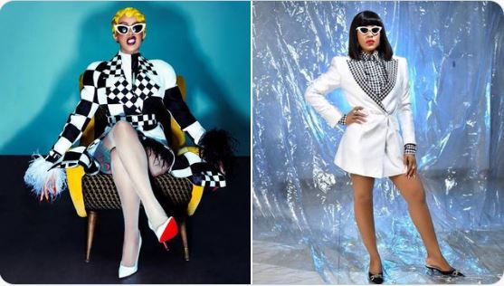 Cardi B Reacts After Being Compared With BBNaija's Erica (Photo)