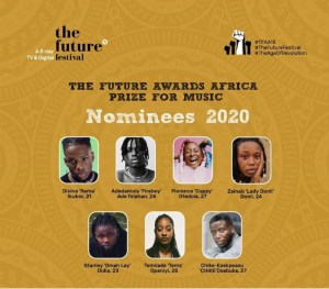 Chiké, Tems, Rema, & Omah Lay To Fight for The Future Awards Africa Music Award