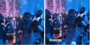 Davido Smashes Wedding Reception Of A Couple In Ghana, Performs Some Of His Hit Songs (Video)