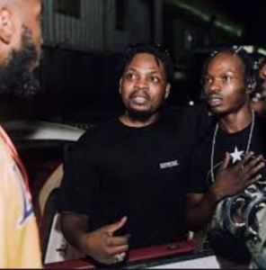 Twitter Reacts As Naira Marley & Olamide Set To Engage In Battle Of Hits