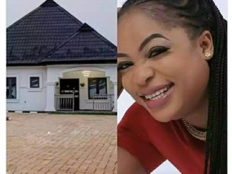 Nollywood actress Kemi Afolabi builds own house, check out the beautiful interior of the bungalow
