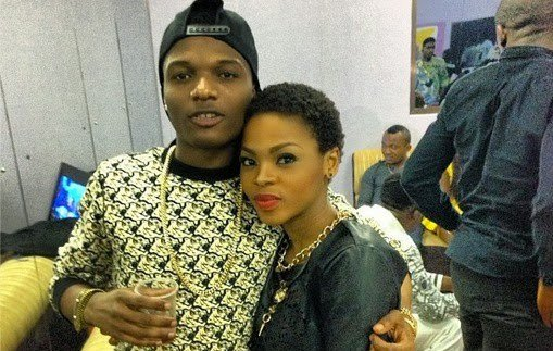 Wizkid proposed to Chidinma with a diamond ring on live TV (Video)