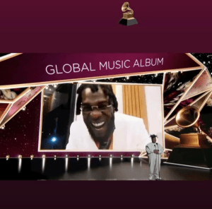 Burna Boy Celebrates His Grammy Win At A Club With His Friends. Watch video