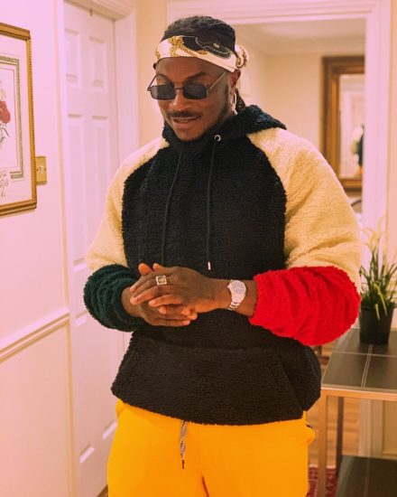 """""""The First Day I Met Davido, I grabbed His Hand""""- Peruzzi Opens Up"""