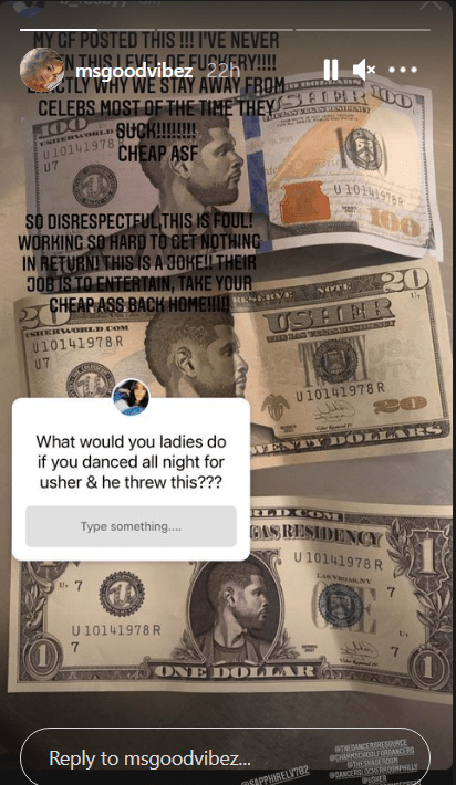 Usher Bashed For Giving Strippers Fake Dollars