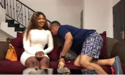 OAP Daddy Freeze Smelled Tacha To Confirm Her Body Odor And This Happened | Watch