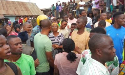 Youths Burn Sotitobire Miracle Church In Akure Over Death Of Boy
