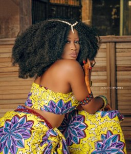 Nigerian Model Unveils African Somma Bukka, Releases Domestic Cooking Shoot