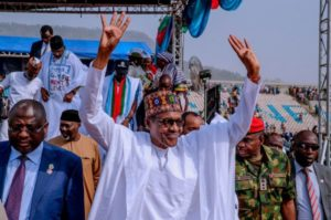 President Buhari At Maiduguri To Join The Army (See Details)