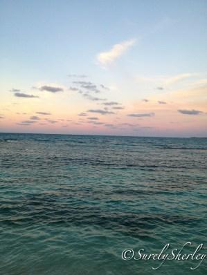 Copyright © Sherley J. Edinbarough (Surely, Sherley and/or SurelySherley), 2014. The Caribbean Sunrise