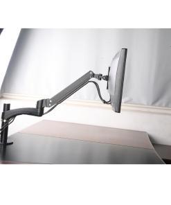 Single Monitor Desk Mount Side Image