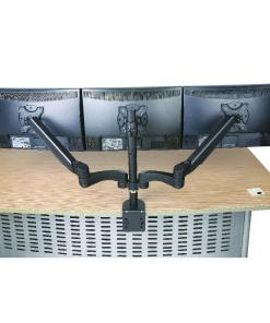 Triple Monitor Desk Mount Back Image2