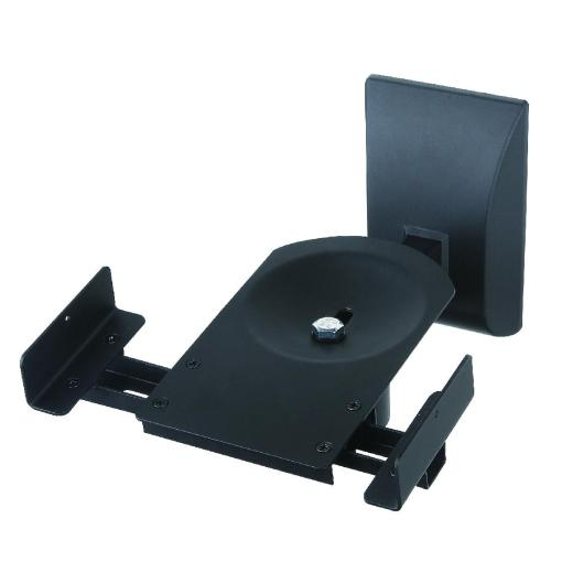 Side Clamping Speaker Wall Mounts Black (SSWB201B) 4