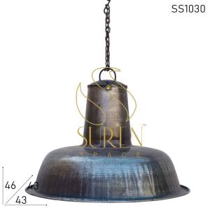 SS1030 Suren Space Metal Finish Raw Inspire Hang Light