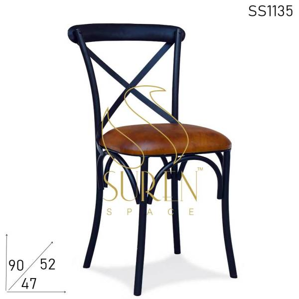SS1135 Suren Space Modern Unique Industrial Style Event Banquet Restaurant Chair