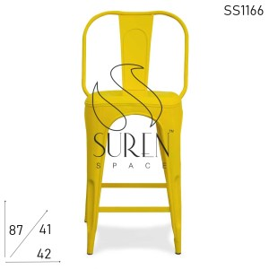 SS1166 Suren Space Commercial Metal Mini Bar Pub Chair