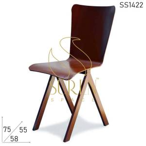 SS1422 Suren Ruimte All Metal Solid Frame Outdoor Iron Chair