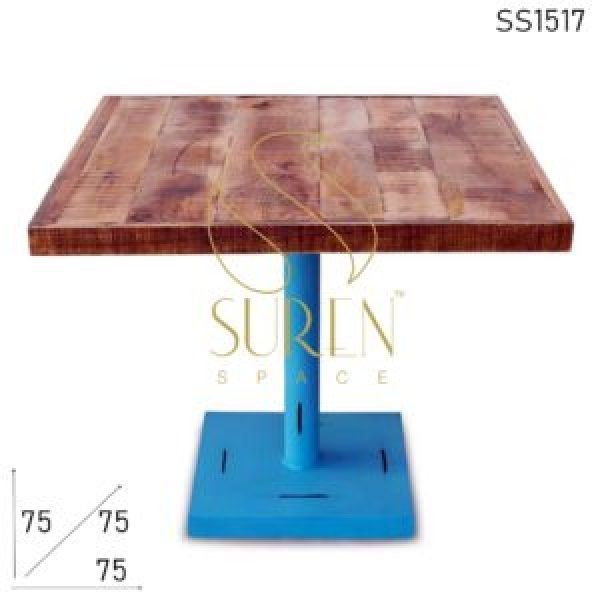 SS1517 Suren Space Industrial Inspire Restaurant Two Seater Table