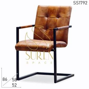 SS1792 Suren Space Tufted Leather Modern Design Office Chair