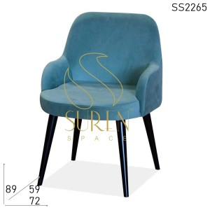 SS2265 Velvet Restaurant Hotel room Accent Chair