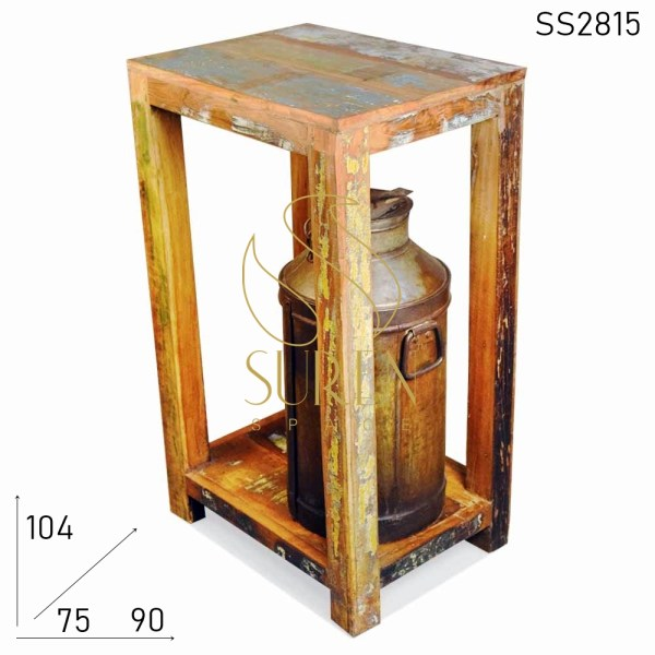 SS2815 Suren Space Reclaimed Wood Brewery Bar Table Design