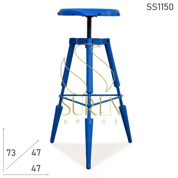 SS1150 Suren Space Metal Bar Stool Высота регулируемый промышленный стул